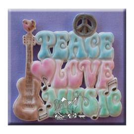 Hippy plaque