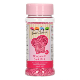 FunCakes Musketzaad -Donker Roze- 80g
