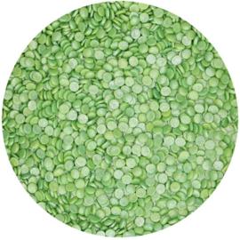 FunCakes Confetti Metallic Groen 70g