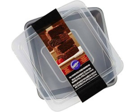 Wilton Covered Brownie Pan Square 22,5 x 22,5cm