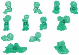 Jem Piccoli Stampini per Bambini Set di 12