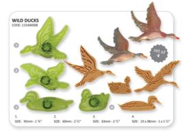 Jem Wild Ducks (Set of 4)