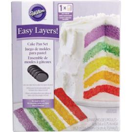 Wilton Cake Pan Easy Layers -15cm- Set/5