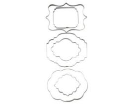 Wilton Cut-Outs -Plaque- Set/6