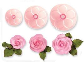 JEM Cutter Easy Rose Set/3