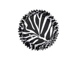 Wilton ColorCups Bakpapiertjes Zebra pk/36