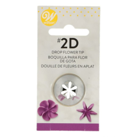 Wilton Decorating Tip #2D Dropflower Carded