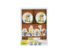 Cupcake Kit Minions 48 pieces