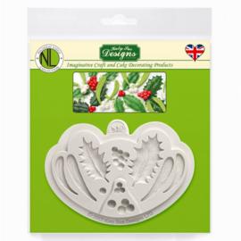 Katy Sue Mould Holly & Mistletoe by Nicholas Lodge