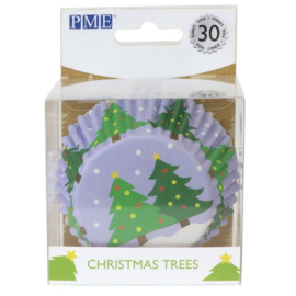 PME Foil Baking Cups Christmas Tree pk/30