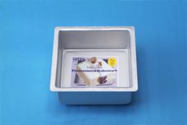 Square Cake Pan (20,32 x 20,32 x 10,16 cm) Extra Hoog