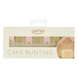 Ginger Ray Cake Bunting Topper - Pastel Perfection