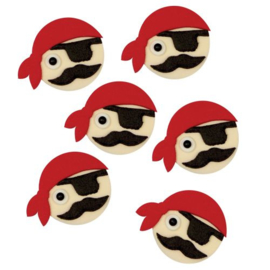 PME Edible Decorations Pirates pk/6