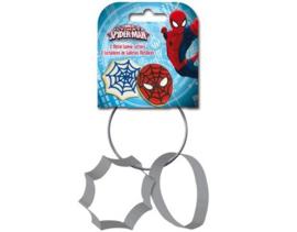 Stor Metalen Koekjes Uitstekers Spiderman set/2