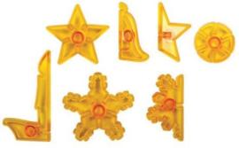 JEM 3D Uitstekers Kerstfiguren Set/7