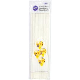 Wilton Lollipop Sticks 30cm, pk/20