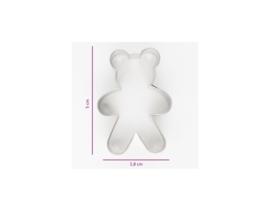 Koekjes Uitsteker Teddybeer - 5 cm