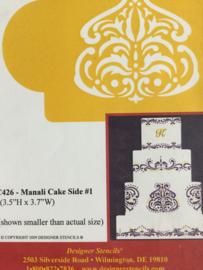 Manila cake side
