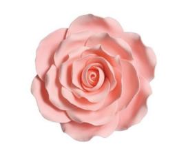 Suikerbloem Roos Roze 10cm