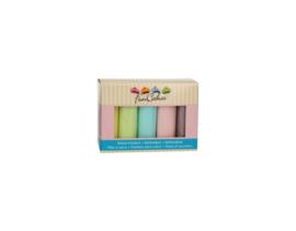 FunCakes Rolfondant Multipack Pastel Colours 5x100g
