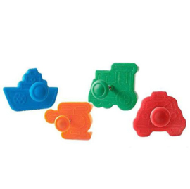 Silikomart Wonder Cakes Plunger Cutter -Transport- set/4 <>