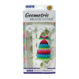 PME Geometric Multicutter Fish Scale Set/3