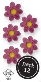 Lilac Daisies (12/Pk