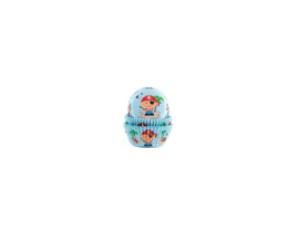 House of Marie Baking cups Pirate - pk/50