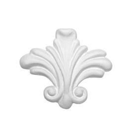 """Decorative Mold - """" Rococo Fleur De Lys"""""""