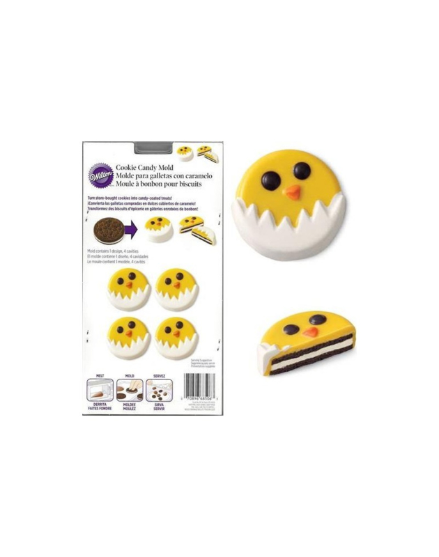 Wilton Cookie Candy Mold Hatching Chick