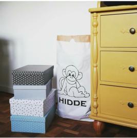 Paperbag met naam
