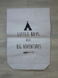 Paperbag 'little boys'