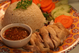 VRIJ 19/11 | KHAO MAN KAI_Thaise Kip, rijst, groenten, soep