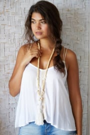 Necklace Hawaii White