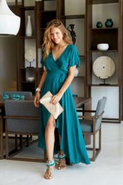 Wrapdress Dani Long - Seagreen