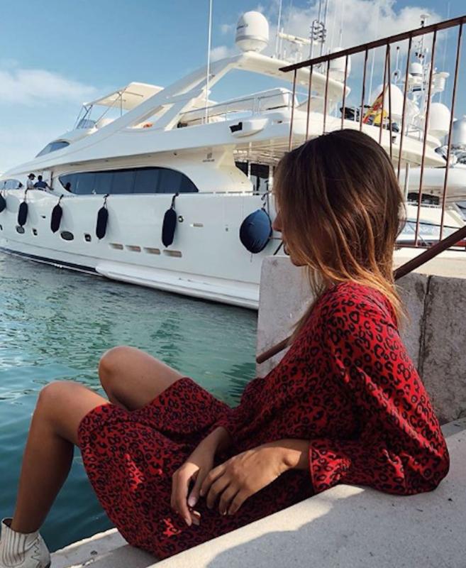 Dress Nina Leopard