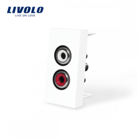 Livolo | Module | Frame | Audio | White