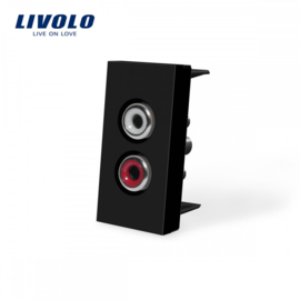 Livolo | Module | Frame | Audio | Black