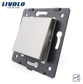 Livolo | Module | Frame | Single |  2 Way | Grey