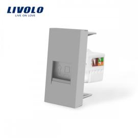 Livolo | Module | Frame | Network RJ45 | Grey