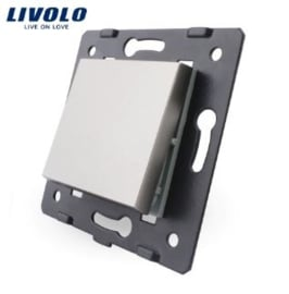 Livolo | Module | Frame | Single | 1 Way | Grey