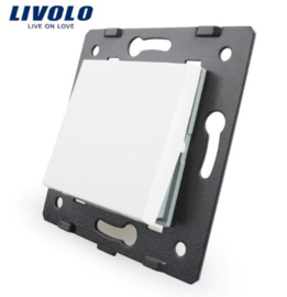 Livolo | Module | Frame | Single | 1 Way | White