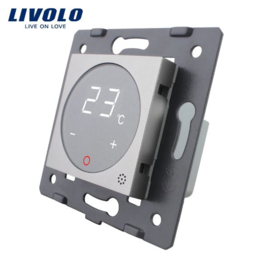 Livolo | Module | Frame | Thermostat switch | Grey