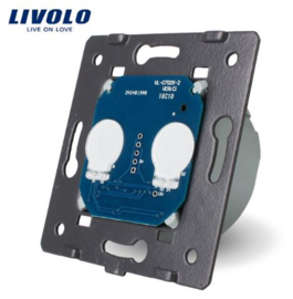 Livolo | Module | Double | 1 Way