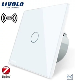 Livolo |  Gateway | Smart Home | WIFI Controller | White
