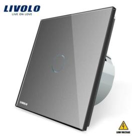 Livolo | Grey | 1Gang 1Way | Low Voltage | 12-24V DC
