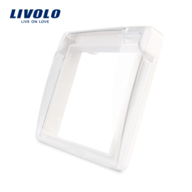 Livolo | Waterproof cover for socket | IP44 | White