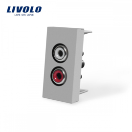Livolo | Module | Frame | Audio | Grey