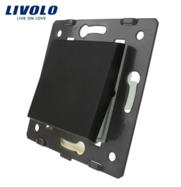 Livolo | Module | Frame | Single | 1 Way | Black