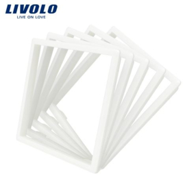 Livolo | Decorative frame for socket | 5pcs | White